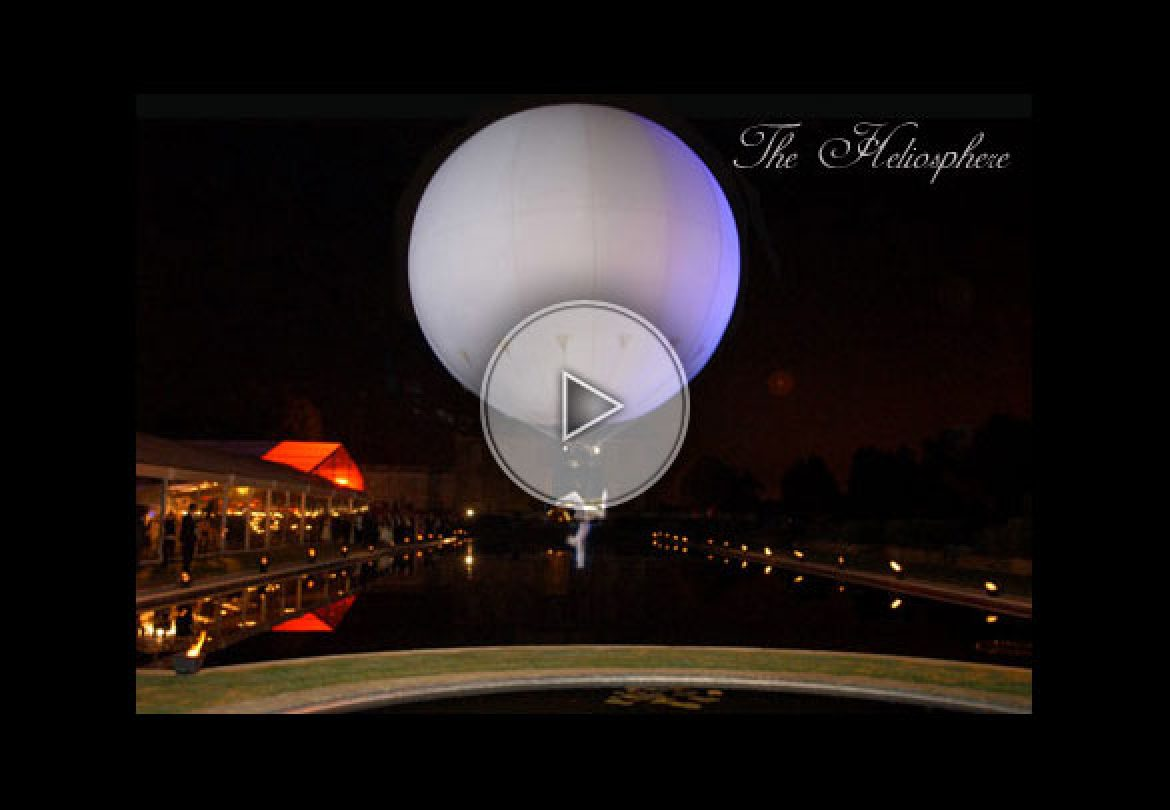 giant balloon, bulle, aerial bubble, white, aerial balloon, ballon aérien
