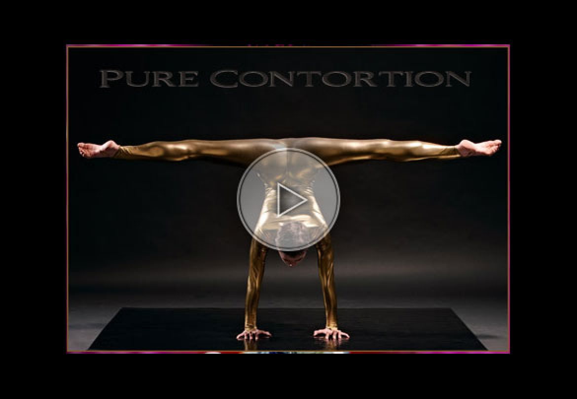 golden contortion, contorsion en or, gold contortion, or