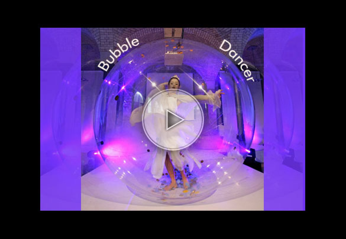 bubble dancer, bubble, transparent, transparency, bulle