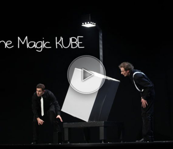 magic kube, cube magic, cube magique, grande illusion, big illusions