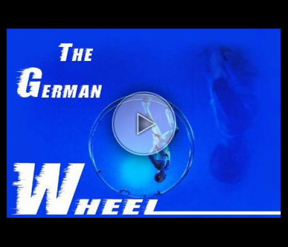 best geman wheel, roue allemande, male german wheel, solo german wheel, homme à la roue allemande