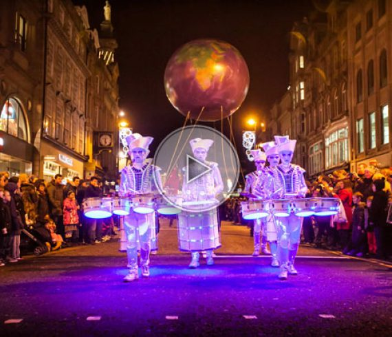 led parade, parade led, LED drums, LED drummers, tambours LED, percussionistes LED, percussion LED, lumière, light
