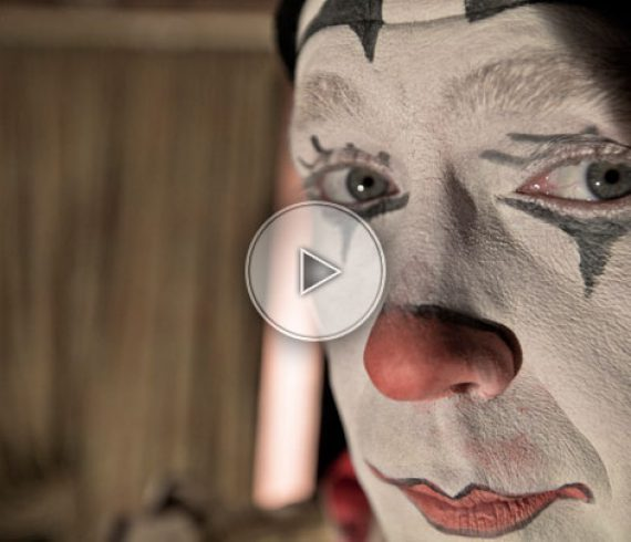 clowns, clown, rola-rola clown, rola-rola clowns, acrobatic act, rouleaux américains