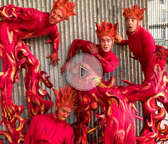 flame stilt walkers, flames, fire, red, stilt walkers, fire stilt, red stilt