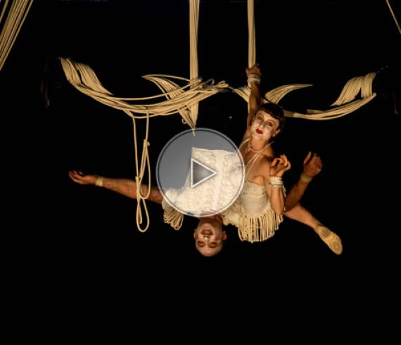 love ropes, loving ropes, aerial duo, ropes duo, ropes, love, aerial comedy
