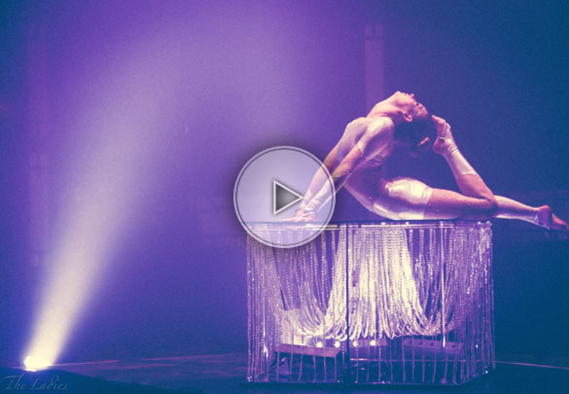 contortion on a table, contortionist on a table, contortion, contortionist, upscale contortion, luxury contortion,