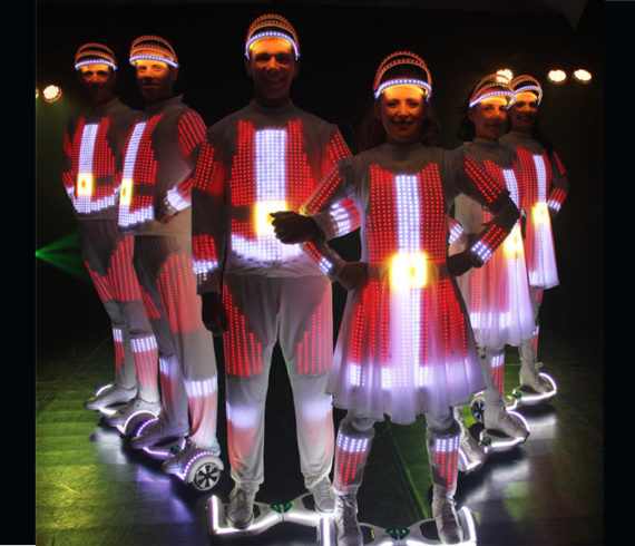 Dancing on hoverboard, Lighting dancers, hoverboards, Lighting hoverboards, Lighting and dance