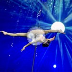 aerial pole, aerial act, pole act, artist, performer, show, bambu act
