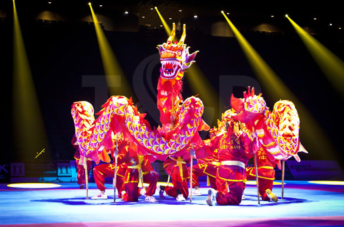 china, chinese, chinese new year, monaco, monte carlo, event, show, performers, calligrapher, contortionist, parade, dragon, asia