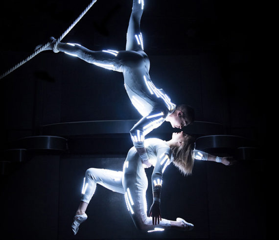 aerial, aerial duo, aerial act, acrobatics, hungary, artists, duo, led aerial act, led aerial, led aerial performance