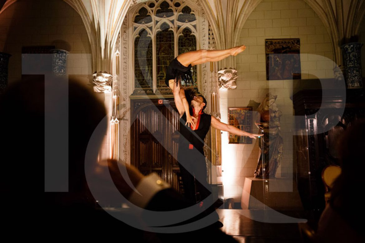 dance duo, gala dinner, netherlands, Kasteel de Haar, Utrecht, dance performance, dance couple
