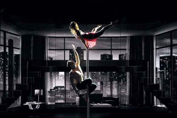 love is in the ai, chinese pole duo, chinese pole, pole dancers, pole dance, pole duo, pole act