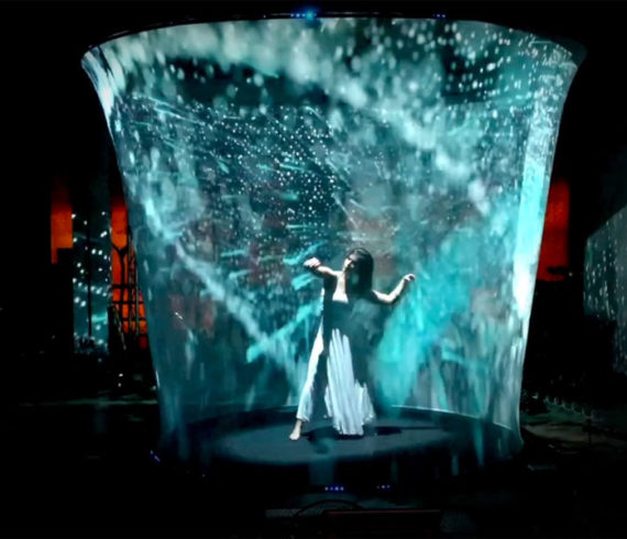 hologram Dance Mapping show, hologram show, hologram mapping, hologram and mapping, hologram shows