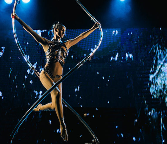 acrobat, acrobat show, elliptic, ellipse, light, acrobatic event, acrobat dark