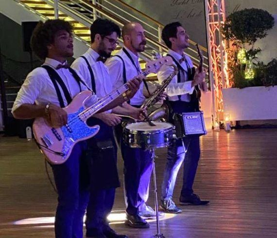 Cover group nice, cover group Monaco, French Riviera musicians, French Riviera band