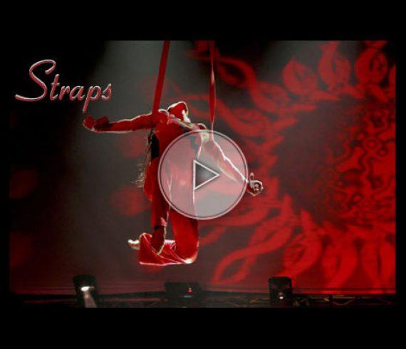 sangles aériennes, sangles, aerial straps, starps, red