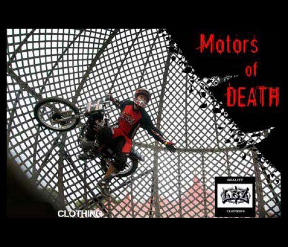 globe of death, motors of death, globe de la mort, motos de la mort
