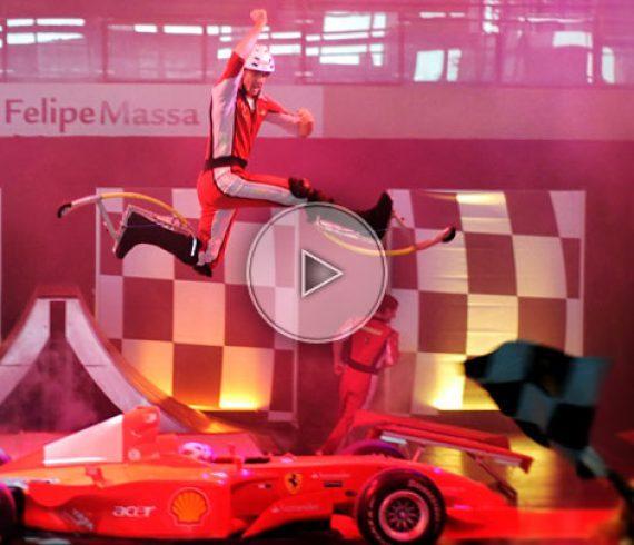acrobatic stilts, skip, echasses acrobatiques
