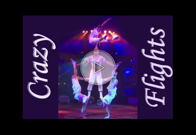 banquine, numéro de banquine, cirque du soleil, banquine act, white