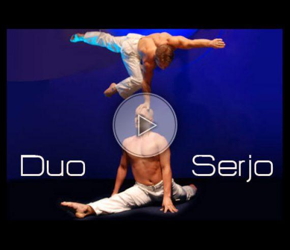 voltige aérienne, balancing, hand to hand balancing, duo serjo