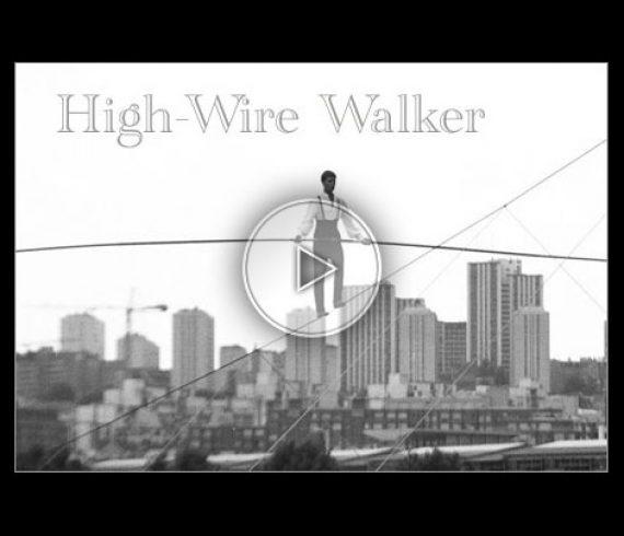 fil de fer à grande hauteur, funambule, funambulisme, hig-wire act, high wire