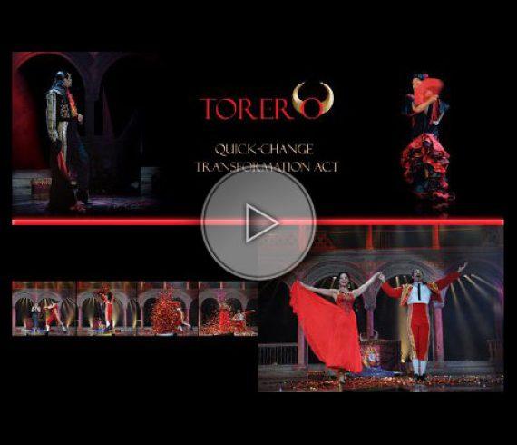 torero, matador, latino, quick change, quick-change