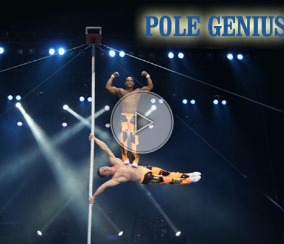 chinese pole duo, duo au mât chinois, pole genius, genius pole