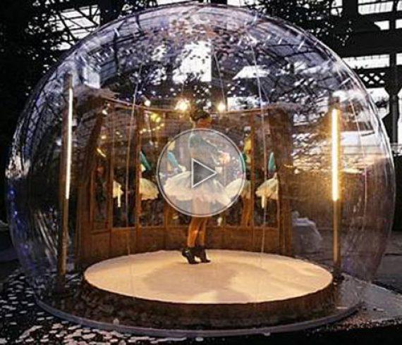 bulle à ballet, danseuse de ballet, ballet dancer, ballet bubble, transparent, transparency