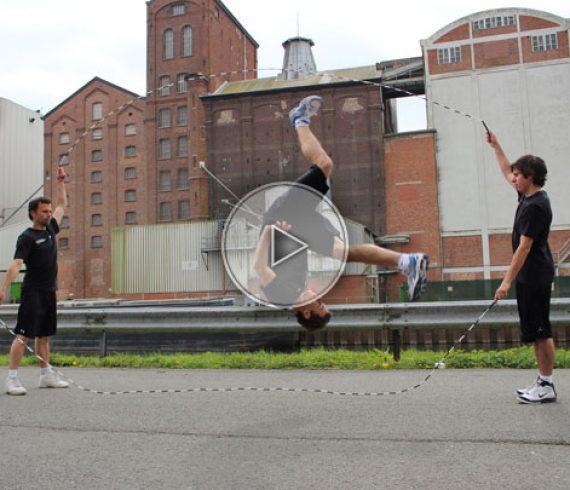 sauteurs à la corde, jump rope, corde à sauter, rope acrobats
