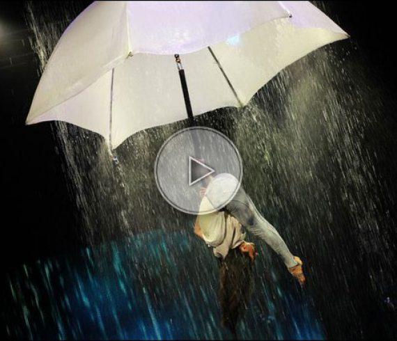 aerial pole, mat aérien, mat chinois aérien, chinese aerial pole, parapluie, umbrella, water, eau