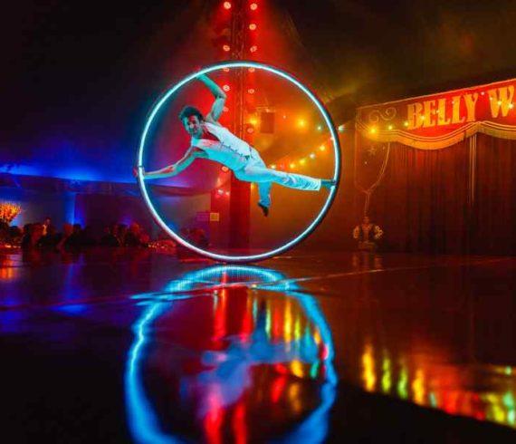 fire cyr wheel, LED cyr wheel, Fire and LED wheel cyr, fire wheel act, LED wheel act