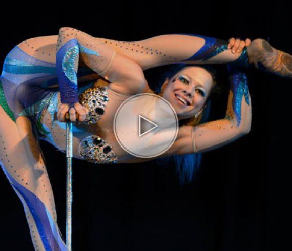 mermaid, mermaid contortion, mermaid hand balance, hand balance contortion act, hand balance contortion show