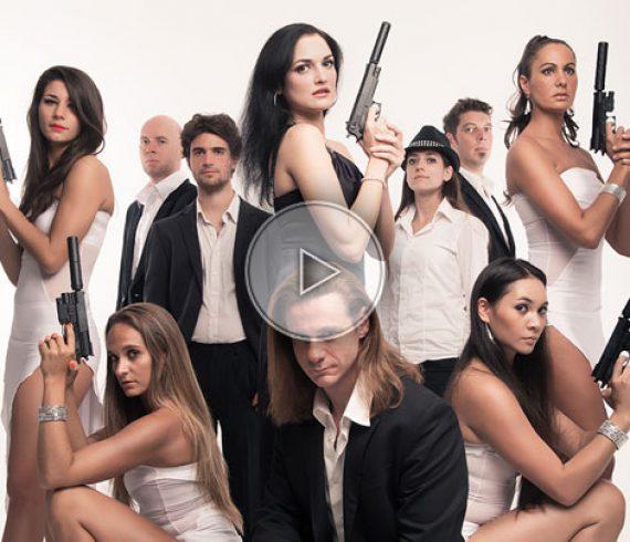 james bond orchestra, james bond themed, james bond, movie orchestra, movie band