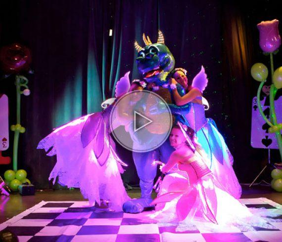 lighting kids show, kids show, lighting show, magical show, kid show