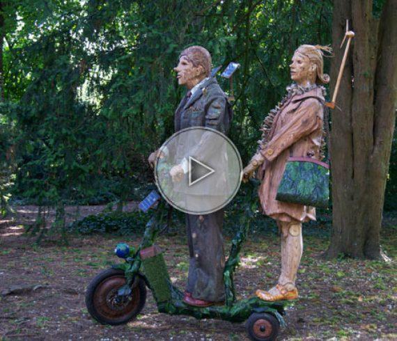 wood, wooden couple, wood characters, wood animation