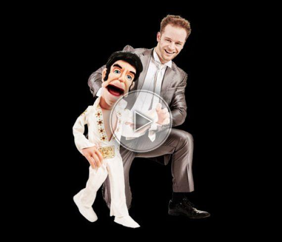 ventriloquist, singing ventriloquist, ventriloquist singer, las vegas ventriloquist