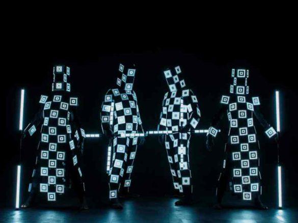 light characters, lighting characters, light dancers, light performers, lighting performers