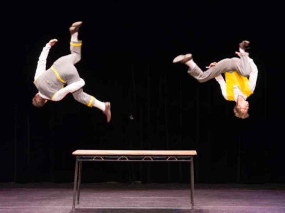 comic duo, comic acrobats, duo acrobats, comic show, duo show, family show