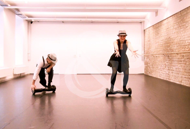 hoverboard, hoverboard duo, hoverboard dancers, hoverboard performers, dancers, dance, france, event, show, strasbourg, its congress