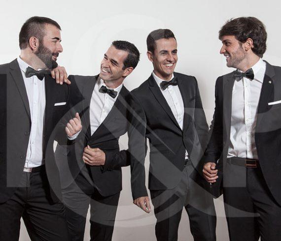 opera singers, valencia, spain voices, quartet, lyric singers