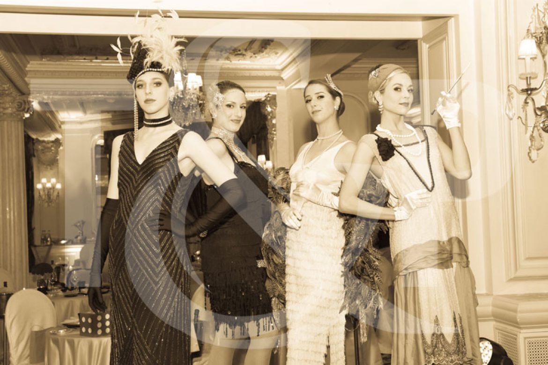 gatsby, gastby show girls, show girls, monaco show girls, monte-carlo show girls, gatsby themed event
