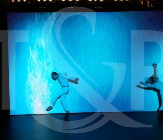 mapping dancers lyon, mapping dancers, mapping, mapping show, technology show