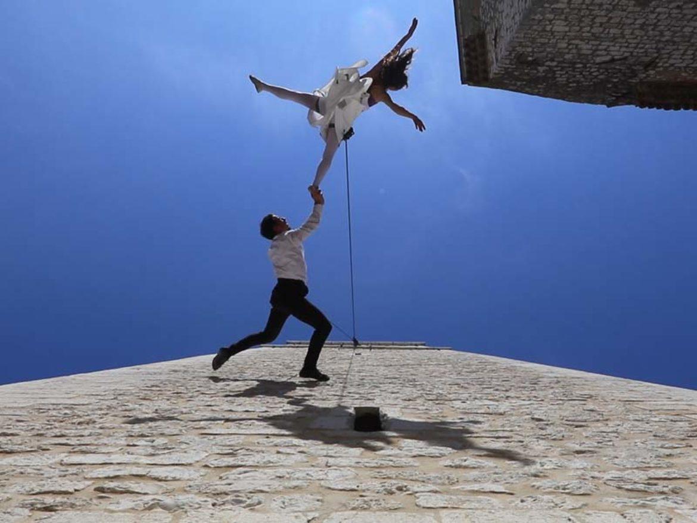 facade aerial dancers, aerial dancers, facade dancers, classical dancers, aerial ballerina