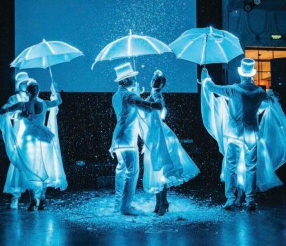Wedding dance, wedding show, white party, white dance, white show, wings show, wings dance, led white dance, led show, led dance, lighted show