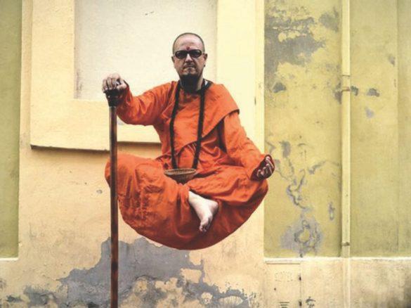Levitation show, genius show, genius lamp show, genius lamp act, levitation, levitation static show, monk show