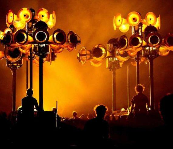 Mechanical orchestra, mechanical parade, mechanical stroll, musical parade, musical stroll, polyphonic parade, polyphonic show, polyphonic stroll