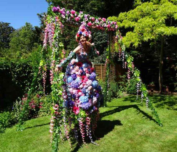 floral stilt, floral character, flowers, flower show#, flower act, floral entertainment, flowers stilts, flowers stilt, stilt walkers