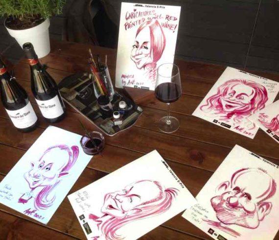 Food paint, wine paint, wine show, caricature wine, coffee paint, coffee painting, food painting, food show, food art, wine art, coffee art